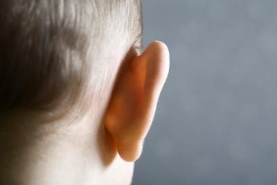 orelha de bebê