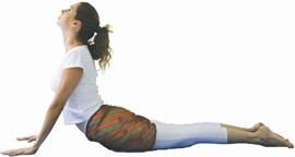 yoga posição bhujangasana