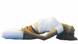 yoga posição matsyana