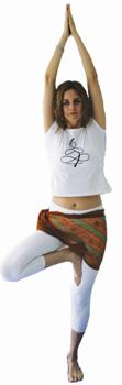 yoga posição vrksasana