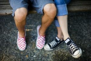 calçados - tênis - pés
